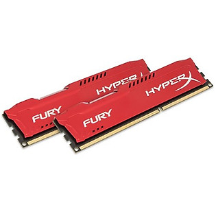 RAM Kingston 8G 1866MHZ DDR3 CL10 Dimm (Kit Of 2) Hyperx Fury Red - HX318C10FRK2/8