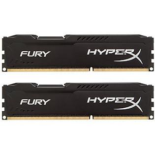 RAM Kingston 8G 1866MHZ DDR3 CL10 Dimm (Kit Of 2) Hyperx Fury Black - HX318C10FBK2/8