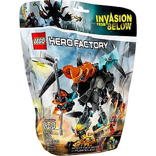 Mô Hình LEGO Hero Factoey Furno & Evo Đối Đầu Quái Vật Hai Đầu (108 Mảnh Ghép) - 44021