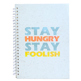 Sổ Tay KISS - Stay Hungry Stay Foolish - Xanh
