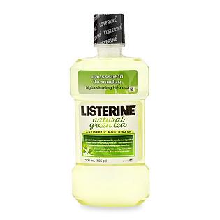 Nước Súc Miệng Trà Xanh Listerine Natural Green Tea (500Ml)
