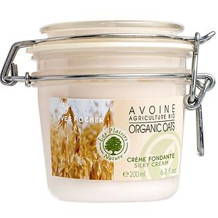 Kem Dưỡng Thể Yến Mạch Yves Rocher Silky Cream Organic Oats (200Ml) - Y101002