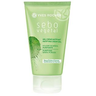 Gel Hấp Thụ Bã Nhờn Và Cung Cấp Độ Ẩm Yves Rocher Matifying Cream Gel (50Ml) - Y102128