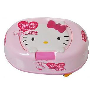 Giấy Ướt LEC Hello Kitty E102 (Có Hộp Đựng)