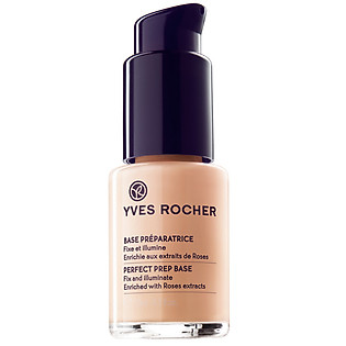 Kem Lót Che Khuyết Điểm Yves Rocher Perfect Primer Rose Teint Abricot  Pump-Bottle (15Ml) - Y101471