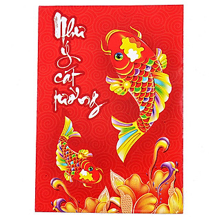 Bao Lì Xì Phan Thị - Như Ý Cát Tường - Lốc 10