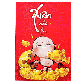 Bao Lì Xì Phan Thị - Xuân Như Ý Mẫu 1 - Lốc 10