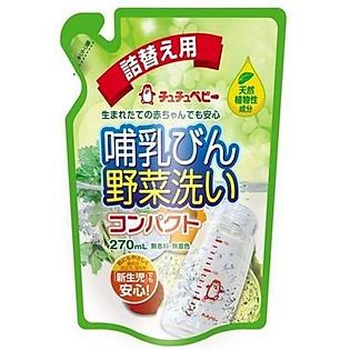 Nước Rửa Bình Và Hoa Quả Chuchu Baby (270Ml)