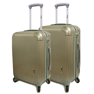 [Set 2 Vali (Size 50-60)] Vali Du Lịch Cao Cấp Trip - P807-Vàng Sampanh