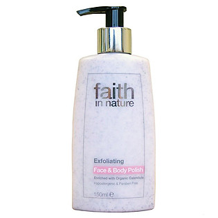 Kem Tẩy Tế Bào Chết Body Faith In Nature 4FBP (150Ml)