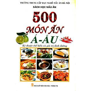 500 Món Ăn Á - Âu