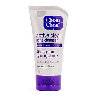 Sữa Rửa Mặt Ngừa Mụn Clean & Clear (50G)