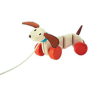 Cún Con Tập Đi Bằng Gỗ Plan Toys - PL5101
