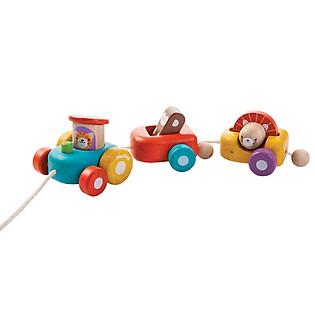 Đoàn Xe Vui Vẻ Bằng Gỗ Plan Toys - PL5131