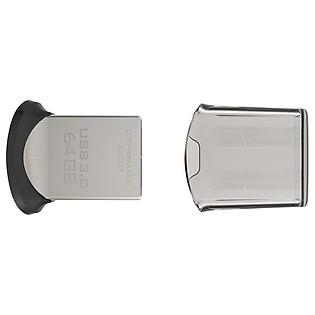 USB Sandisk Cz43 Ultra Fit  64GB - USB 3.0 - 130Mb/S