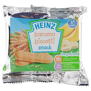 Hộp 12 Gói Bánh Ăn Dặm Heinz Vị Chuối