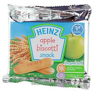 Hộp 12 Gói Bánh Ăn Dặm Heinz Vị Táo Xanh