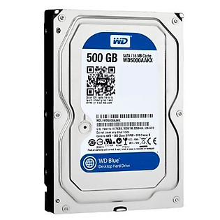 Ổ Cứng Trong PC WD 500GB (16MB) 7200Rpm 3.5″ Blue™