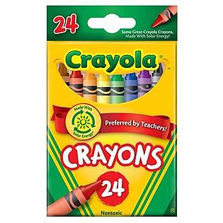 Bút Sáp 24 Màu Crayola - 5230243012