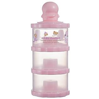 Hộp Chia Sữa 3 Ngăn Kuku KU5417