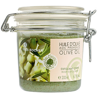 Tẩy Tế Bào Chết Toàn Thân Từ Dầu Olive Yves Rocher Body Exfoliant Olive Oil (200Ml) - Y101006