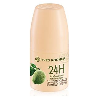 Lăn Khử Mùi Hạnh Nhân Yves Rocher California Soft Deodorant Californian Almond Roll On (50Ml)