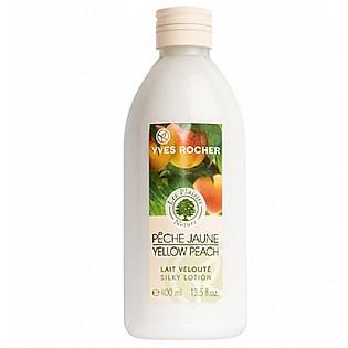 Sữa Dưỡng Thể Hương Đào Vàng Yves Rocher Silky Lotion Yellow Peach (400Ml) - Y101036