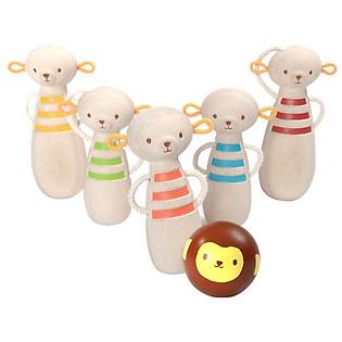 Mô Hình Plan Toys - Bowling Cùng Những Chú Khỉ Pl5653