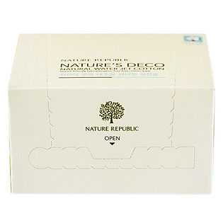 Bông Tẩy Trang Nature Republic Nature's Deco Natural Water Jet Cotton (80 Miếng)