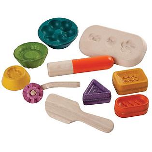 Khuôn Nặn Bột Plan Toys - Tiệm Bánh Vui Vẻ Pl5697