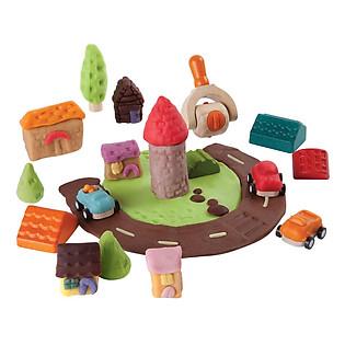 Khuôn Nặn Bột Plan Toys - Thành Phố Mini Pl5699