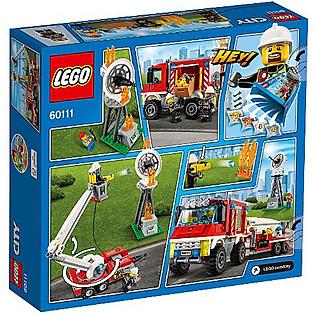 Mô Hình LEGO City Fire – Xe Bán Tải Cứu Hỏa 60111 (368 Mảnh Ghép)