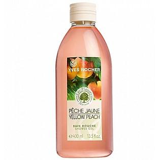 Gel Tắm Hương Đào Vàng Yves Rocher Shower Gel Yellow Peach (400Ml) - Y101023