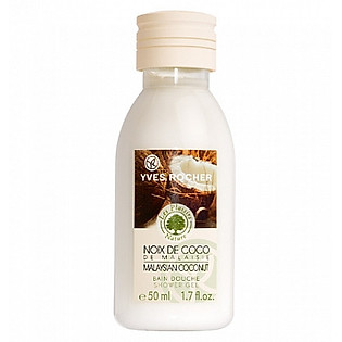 Gel Tắm Hương Dừa Yves Rocher Shower Gel Coconut (50Ml) - Y101014
