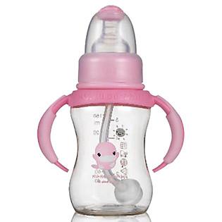 Bình Sữa Nhựa PES Kuku Có Tay Cầm KU5835 (150Ml)
