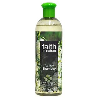 Dầu Gội Thảo Dược Thiên Nhiên Với Dầu Trà Faith In Nature 5T (400Ml)