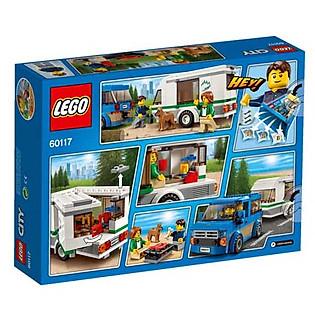 Mô Hình LEGO City Great Vehicles - Xe Lưu Động Dã Ngoại 60117 (250 Mảnh Ghép)