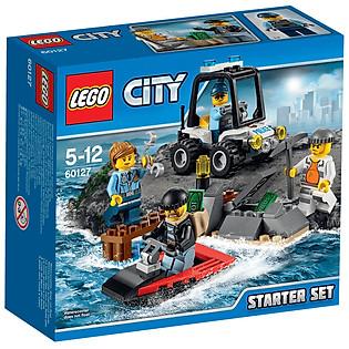 Mô Hình LEGO City Police - Bộ Lắp Ráp Cảnh Sát Biển Khởi Đầu 60127 (92 Mảnh Ghép)
