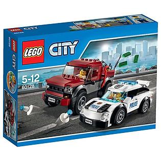 Mô Hình LEGO City Police - Cảnh Sát Truy Đuổi 60128 (184 Mảnh Ghép)