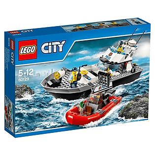 Mô Hình LEGO City Police - Tàu Tuần Tra Cảnh Sát 60129 (200 Mảnh Ghép)