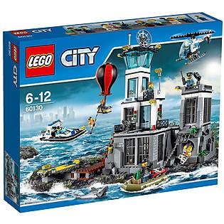 Mô Hình LEGO City Police - Cảnh Sát Biển 60130 (754 Mảnh Ghép)