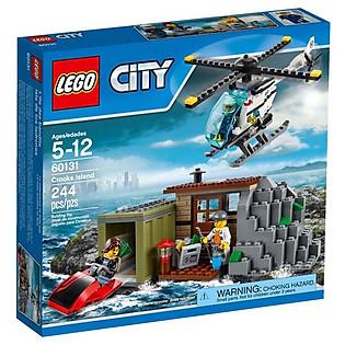 Mô Hình LEGO City Police - Tội Phạm Biển 60131 (244 Mảnh Ghép)