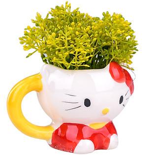Chậu Hoa Kitty 227 - Đỏ