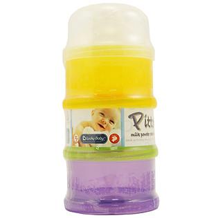 Bộ 3 Ngăn Chia Sữa Bột Lucky Baby 610664