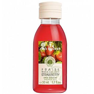 Gel Tắm Hương Dâu Tây Yves Rocher Shower Gel Strawberry (50Ml) - Y100100