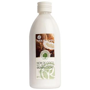 Gel Tắm Hương Dừa Từ Malaysia  Yves Rocher  Shower Gel Coconut (400Ml) - Y101020