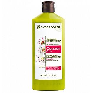 Dầu Gội Dành Cho Tóc Nhuộm Yves Rocher Color - Protection And Radiance Shampoo (300Ml) - Y101899