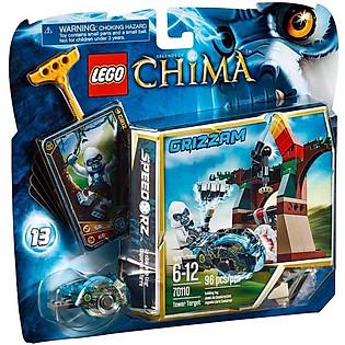 Mô Hình LEGO Chima Tháp Mục Tiêu (96 Mảnh Ghép) - 70110