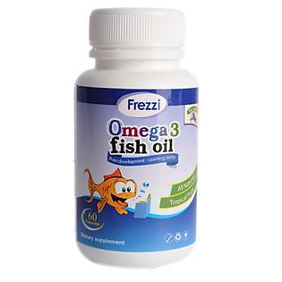 Hộp 60 Viên Uống Bổ Sung Canxi Cho Bé Frezzi Omega 3 Fish Oil