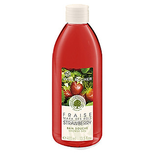 Gel Tắm Hương Dâu Tây Yves Rocher Shower Gel Strawberry (400Ml) - Y100089